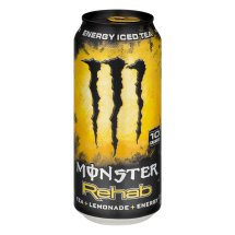Monster Rehab Energy Iced Tea + Lemonade + Energy, 15.5 FL OZ