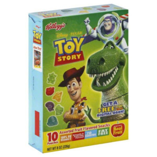 Kellogg's Disney/Pixar Toy Story Fruit Flavored Snacks