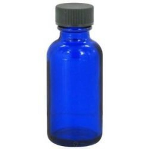 Wyndmere Naturals 1 Oz Blue Glass Bottle