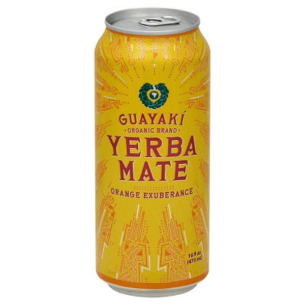 Guayaki Yerba Mate Tea Orange Exuberance