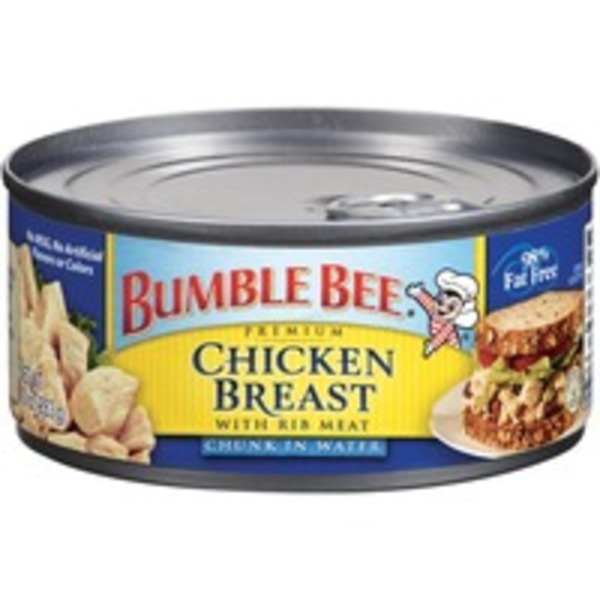 Bumble Bee Chunk W/Rib Meat In Water Chicken Breast
