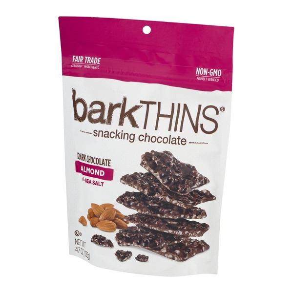barkTHINS Dark Chocolate Almond with Sea Salt
