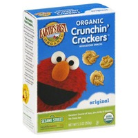 Earth's Best Organic Original Organic Crunchin' Crackers