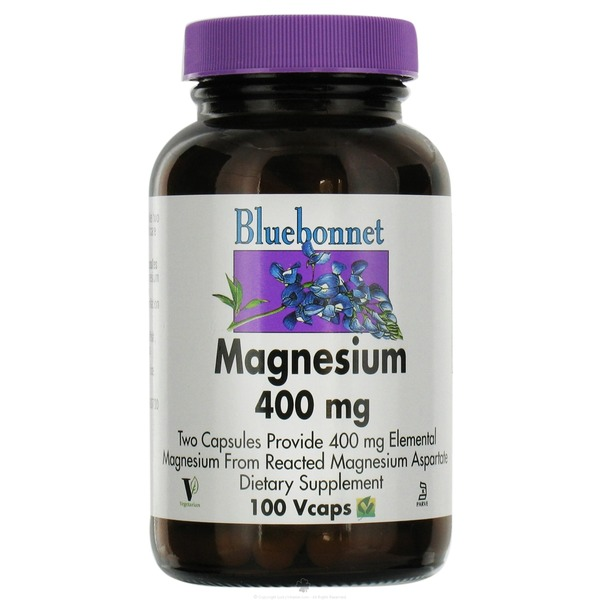 Bluebonnet Nutrition Magnesium 400 Mg Vegetarian