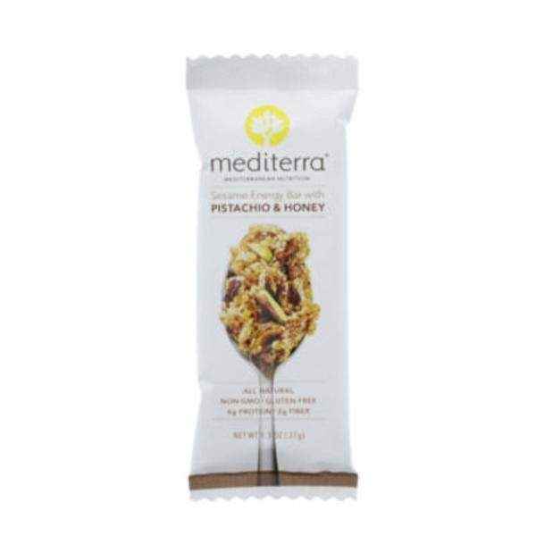 Mediterra Pistachio & Honey Sesame Bar