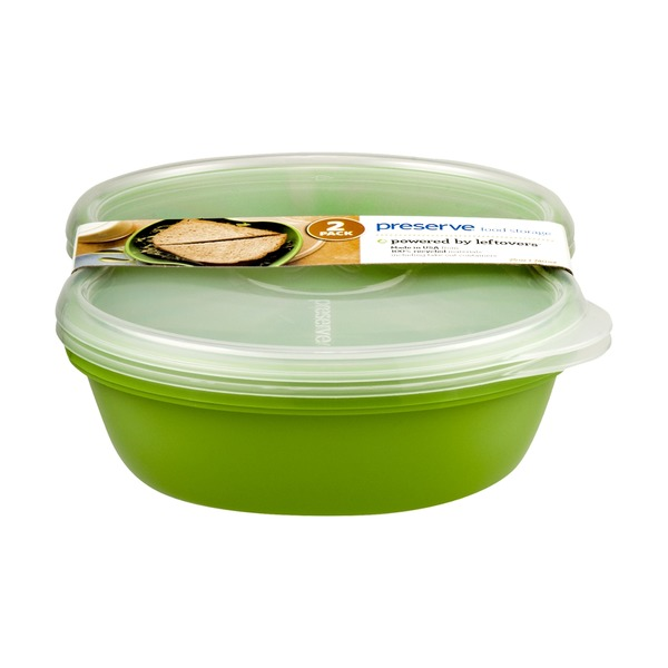 Preserve Food Storage with Lids - 2 PK