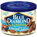 Blue Diamond Roasted Salted Almonds, 6 oz