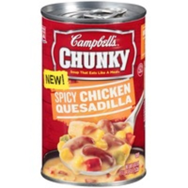 Campbell's Spicy Chicken Quesadilla Soup
