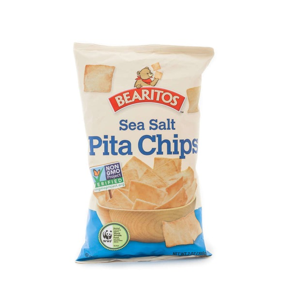 Bearitos Sea Salt Pita Chips