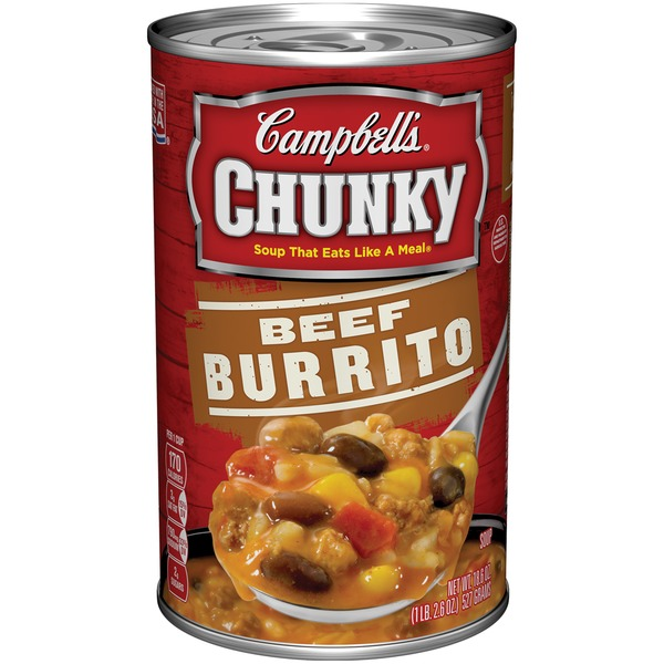 Campbell's Chunky Beef Burrito Soup