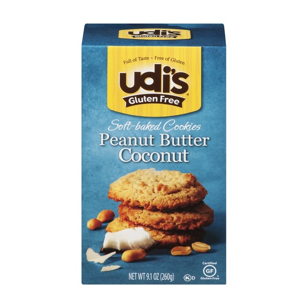 Udi's Gluten Free Soft-Baked Peanut Butter Coconut Cookies