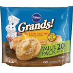 Pillsbury Grands! Butter Tastin' Biscuits Value Pack, 20 Ct, 41.6 oz, 41.6 OZ