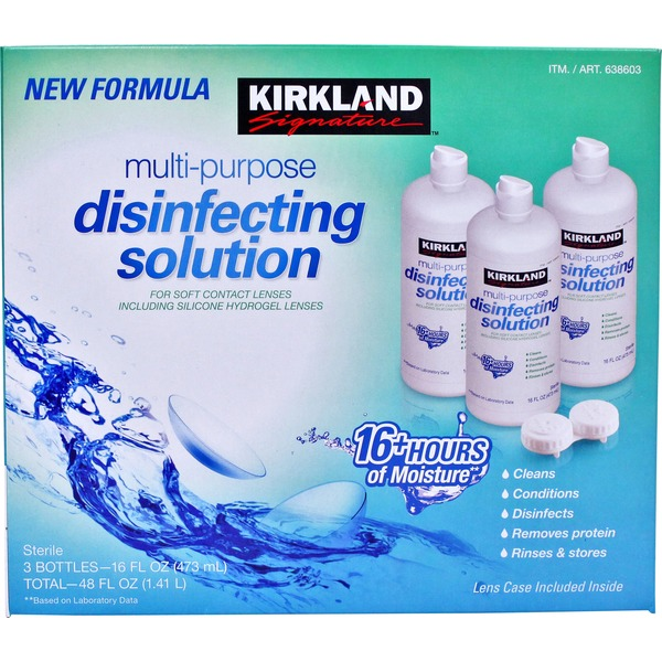Kirkland Signature Multipurpose Disenfecting Solution