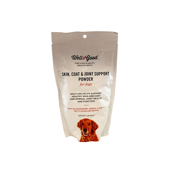 Well & Good Skin Coat & Joint Support Powder For Dogs