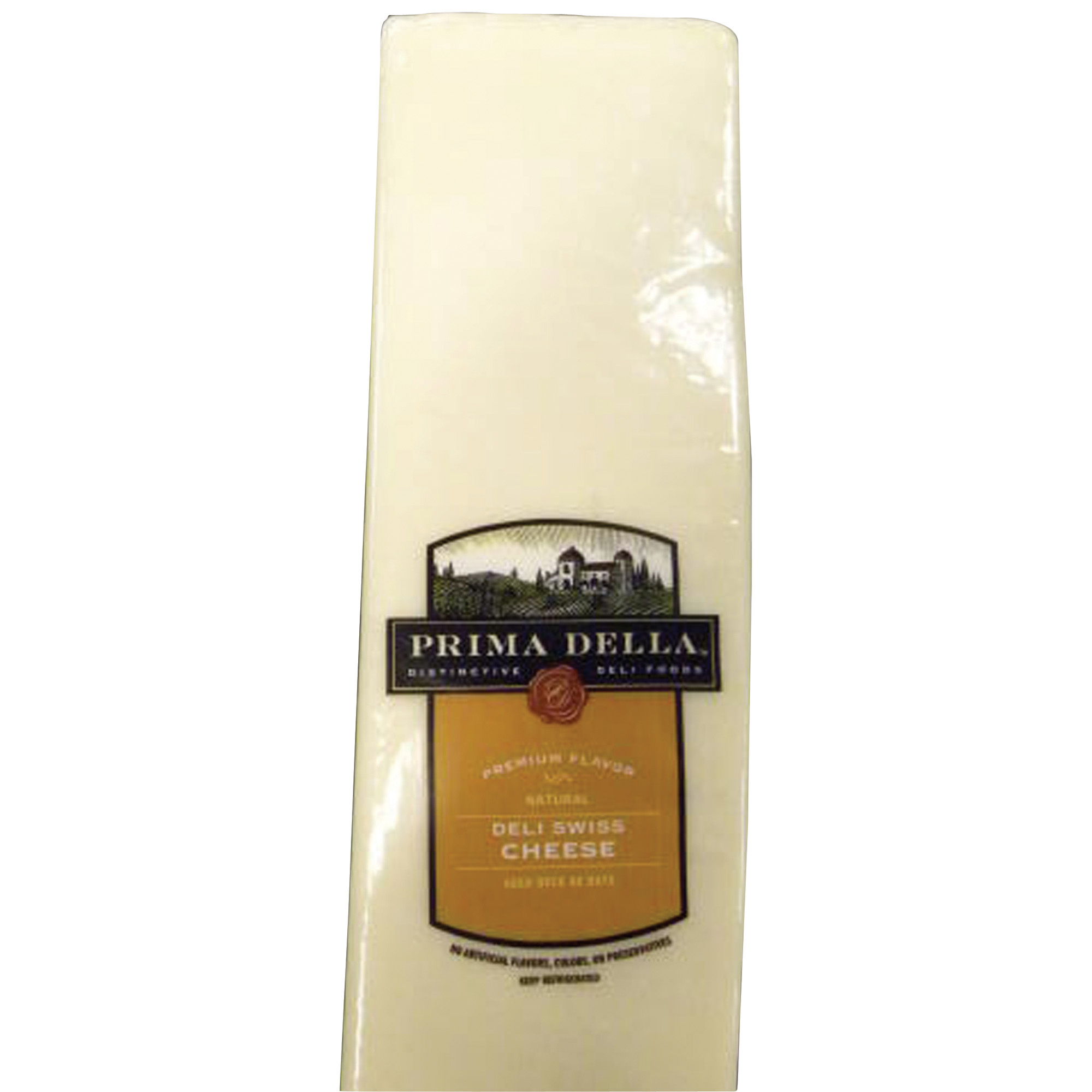 Prima Della Deli Swiss Cheese Deli Sliced 1 lb
