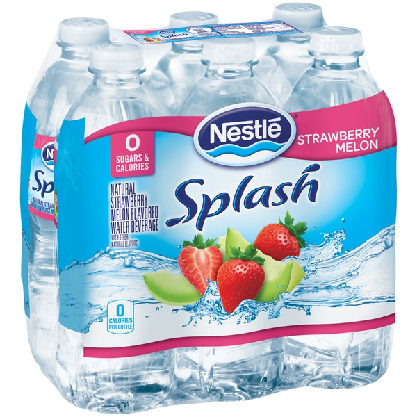 Nestle Splash Splash Strawberry Melon Flavored Water