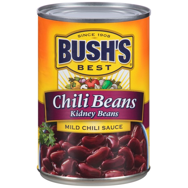 Bush's Best Red Beans in Chili Sauce Mild Chili Beans