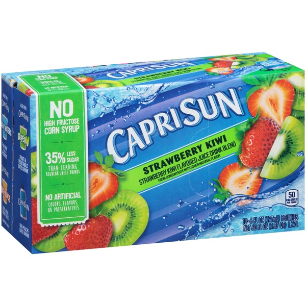 Caprisun Strawberry Kiwi Juice Drink