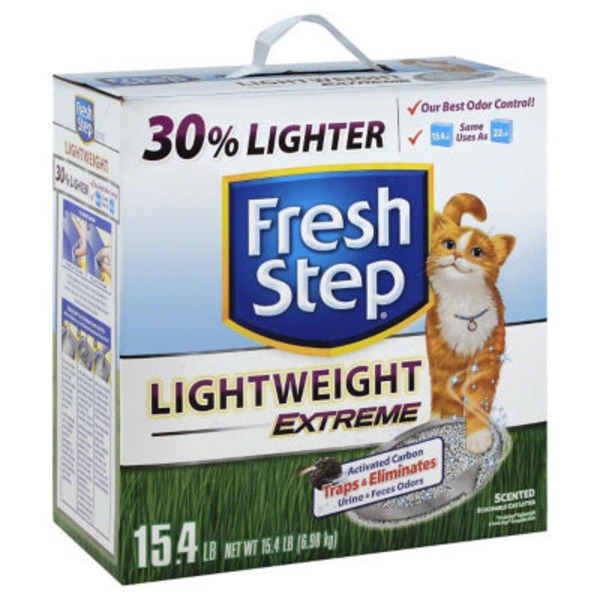 Fresh Step Lightweight Febreze Freshness Extreme Clumping Cat Litter