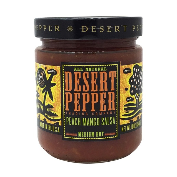 Desert Pepper Trading Company Authentic Peach Mango Salsa