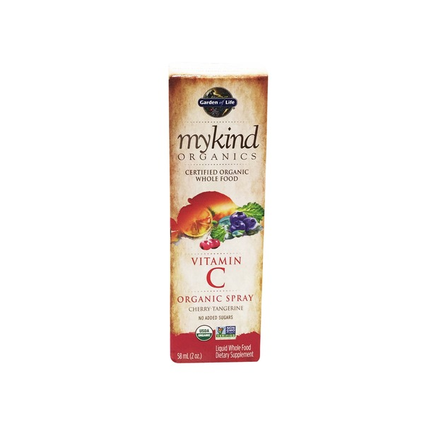 Garden of Life Mykind Organic Vitamin C Spray Cherry
