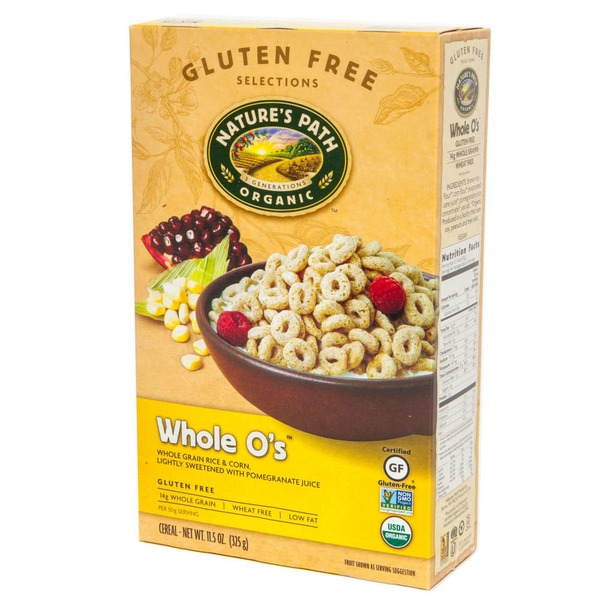 Nature's Path Organic Whole O's Gluten Free Cereal