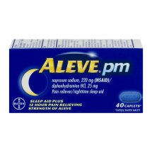 Aleve PM Caplet, Pain Reliever/Fever Reducer/Sleep Aid, 40ct