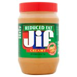 Jif Reduced Fat Creamy Peanut Butter Spread, 40 oz
