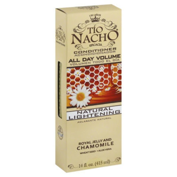 Tio Nacho All Day Volume, Natural Lightening, Royal Jelly and Chamomile Conditioner