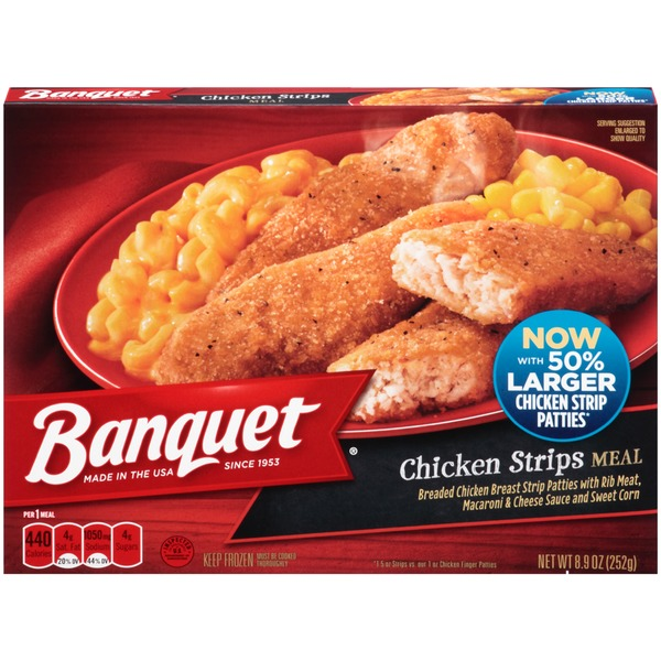 Banquet Chicken Strips Meal