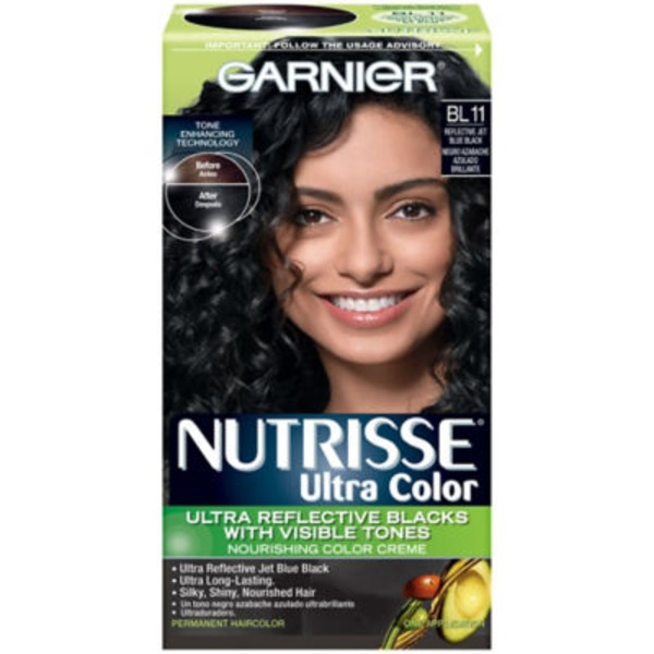 Nutrisse® Ultra Color Nourishing Color Creme BL11 Jet Blue Black Haircolor
