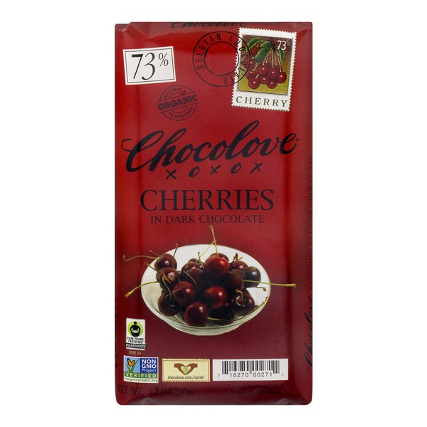 Chocolove Cherries In Dark Chocolate