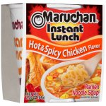Maruchan Instant Lunch Ramen Noodle Soup, Hot & Spicy Chicken, 2.25 Oz