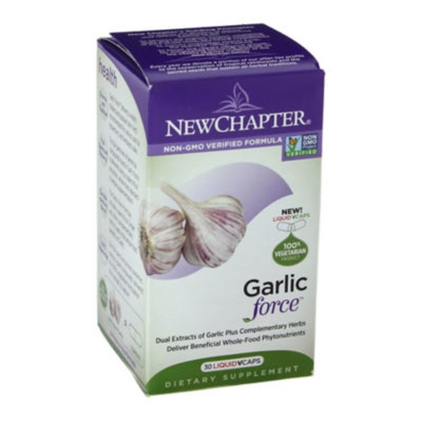 New Chapter Garlic Force Dietary Supplement