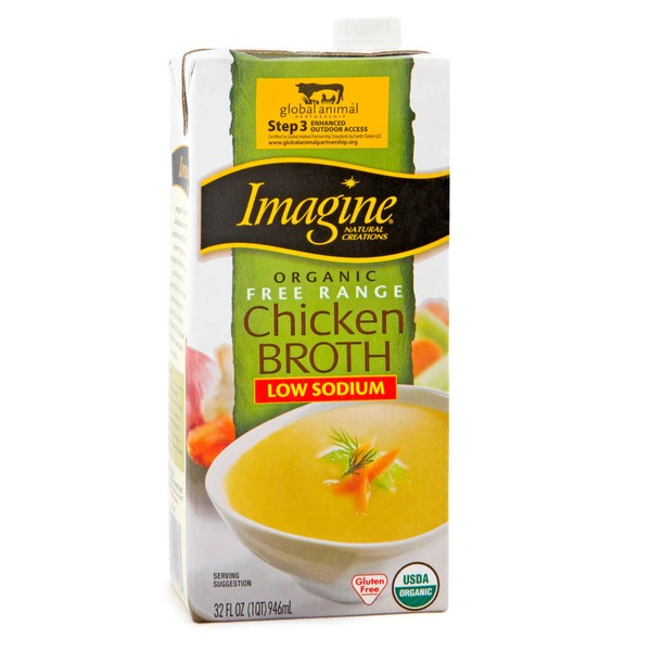 Imagine Foods Organic Kosher Free Range Chicken Broth