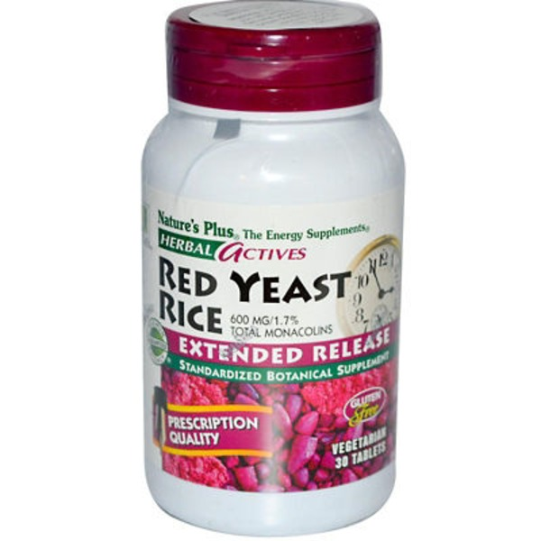 Nature's Plus Natpls Red Yeast Rice