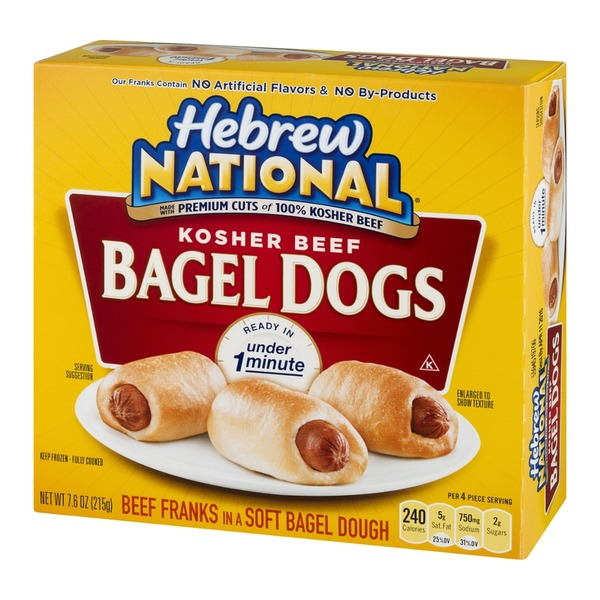 Hebrew National Kosher Beef Bagel Dogs