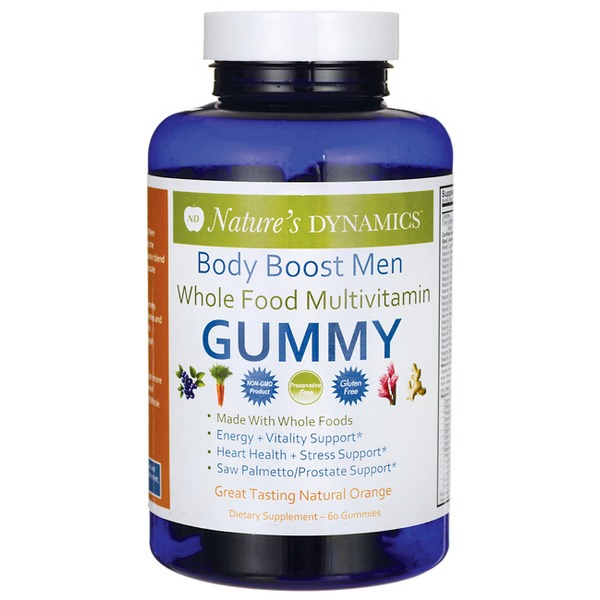 Nature's Dynamics Natural Orange Body Boost Men Gummies