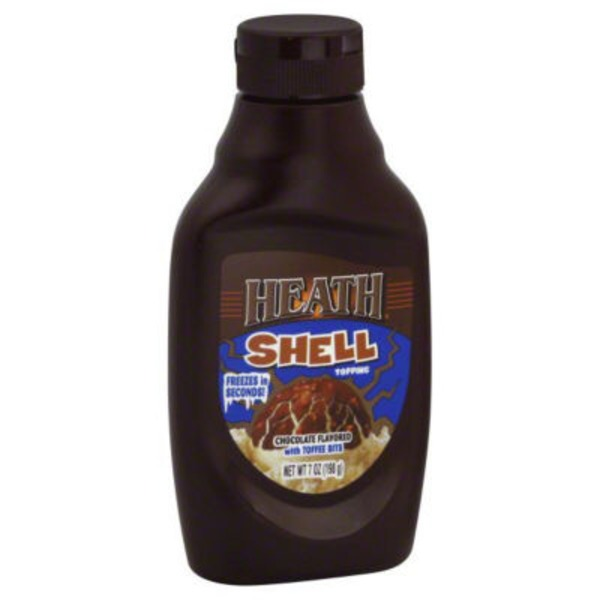 Heath Chocolate Flavored with Toffee Bits Shell Topping