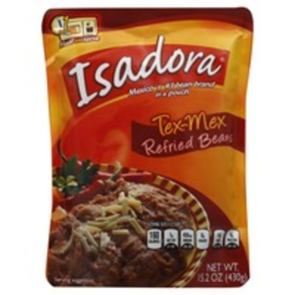 Isadora Tex-Mex Refried Beans