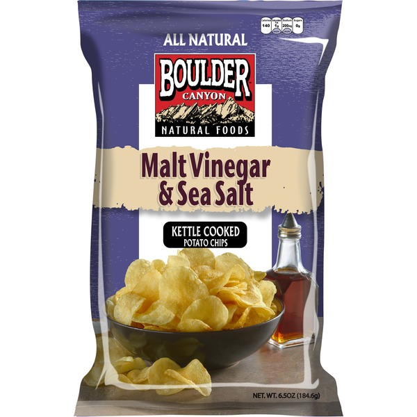 Boulder Canyon Malt Vinegar Potato Chips