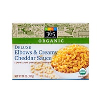 365 Organic Deluxe Elbows and Creamy Cheddar Sauce