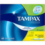 Tampax Cardboard Applicator Multipax Tampons