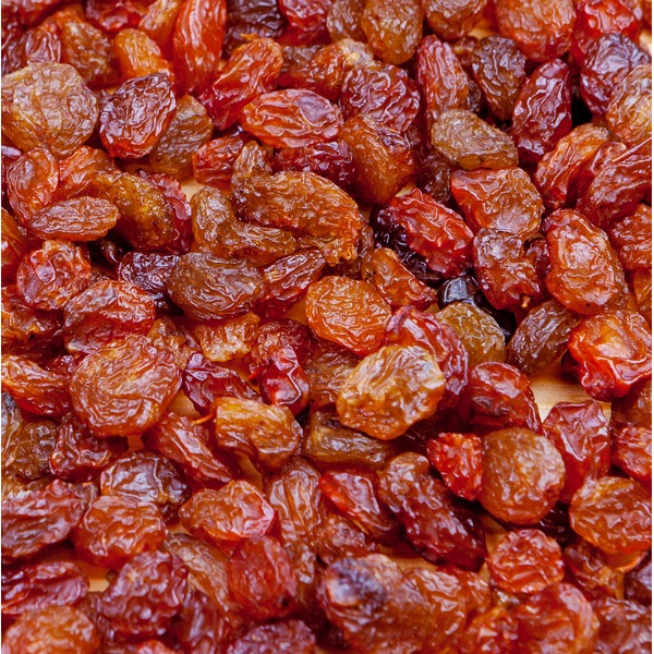 Organic Red Raisins, Bulk