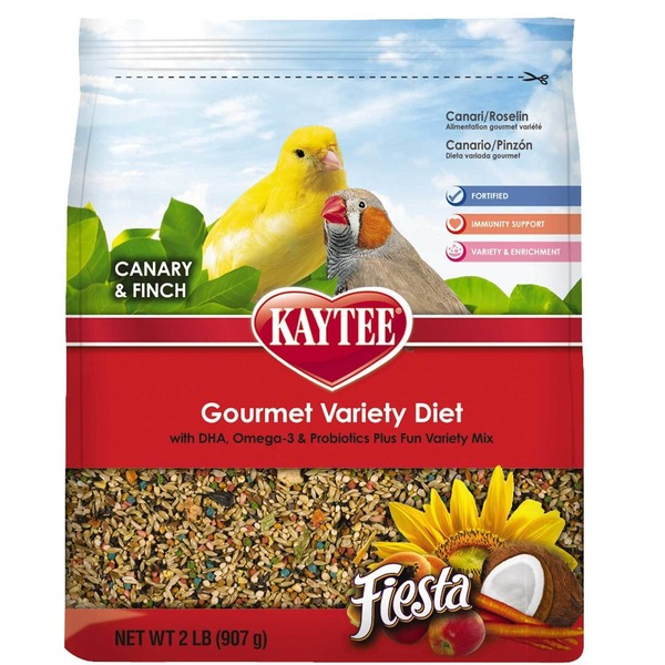 Kaytee Canary and Finch Gourmet Variety Diet