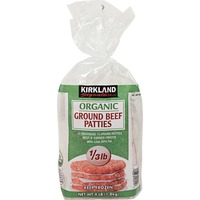 Kirkland Signature Organic Ground Beef Patties