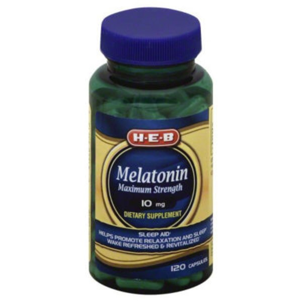 H-E-B Melatonin 10 Mg