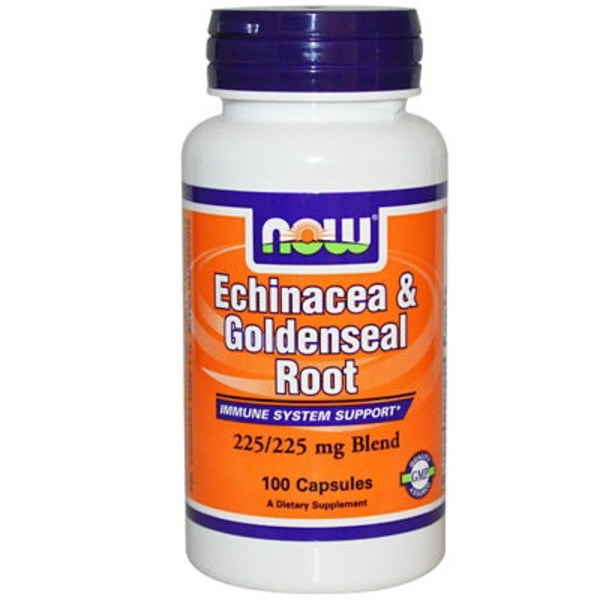 Now Echinacea & Goldenseal Root Capsules
