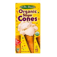 Let's Do...Organic Sugar Cones - 12 CT