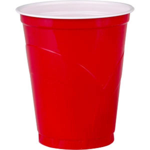 Kirkland Signature Red Plastic Cups
